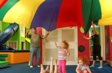 Parents parachute